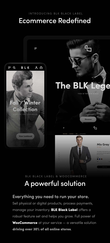 BLK Black Label — Streamlined WooCommerce Solution - 2